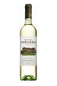bottle of Vinho Verde, Portuguese White Wine