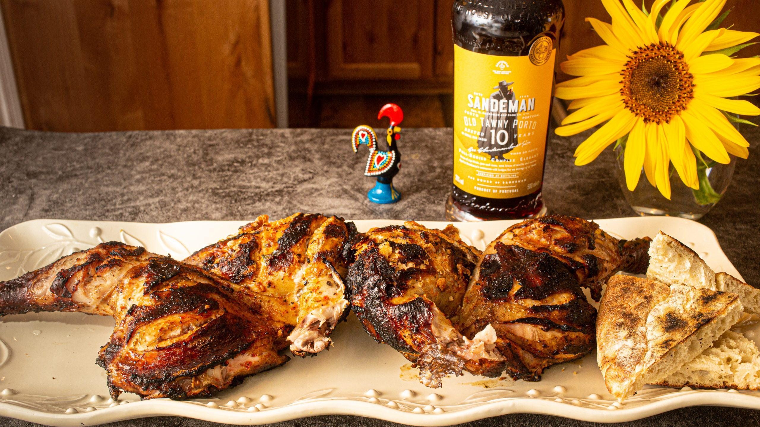 Piri Piri Spatchcock Barbecue Chicken