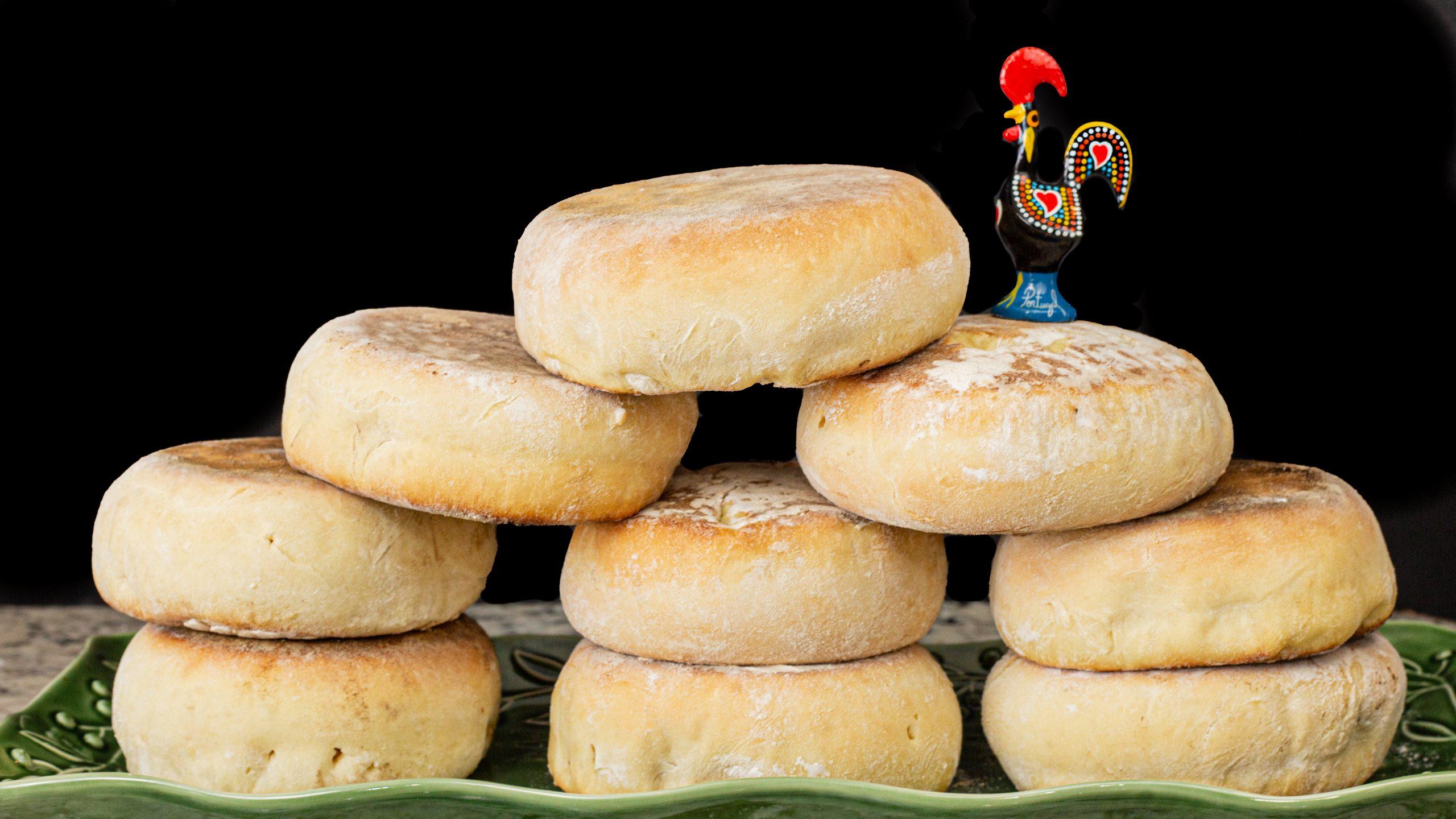 Bolo Levedo, Portuguese Muffins