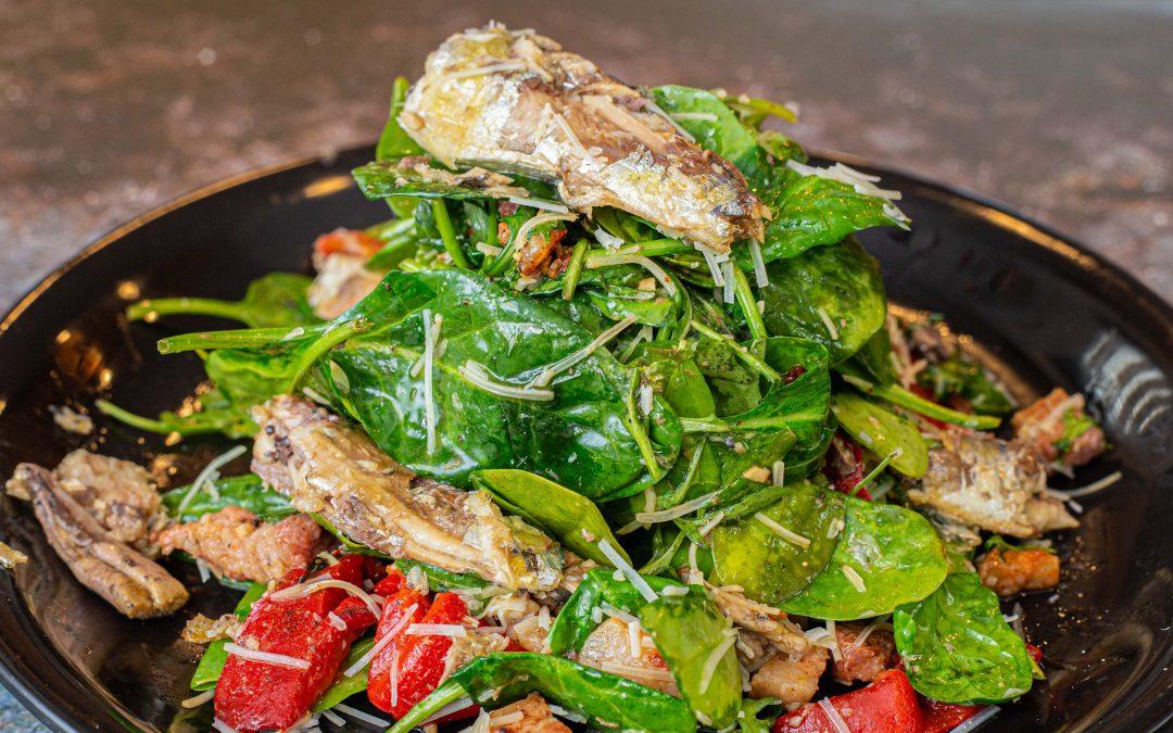 Portuguese Sardine Salad