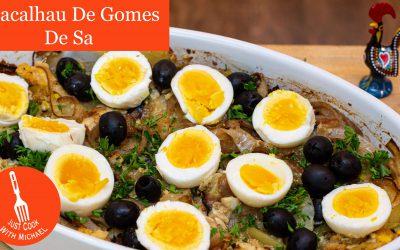 Bacalhau a Gomes de Sa – Salt Cod Casserole