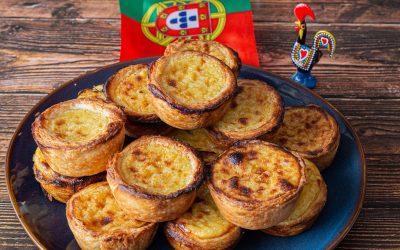 Pasteis de Nata – Portuguese Custard Tarts