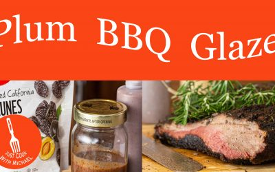 Plum Barbecue Glaze
