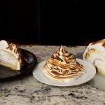 3 types of Baked Alaska