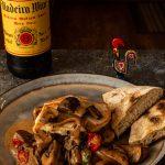 Madeira Wine Sauce over chicken