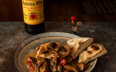 Chicken with Madeira Wine Sauce