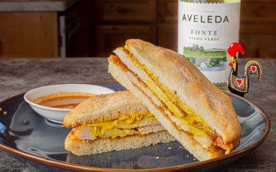 Bifana | Marinated Pork Sandwich