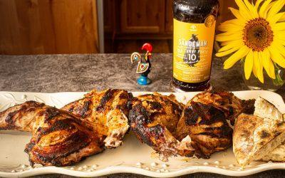 Spicy Piri Piri Spatchcock Chicken