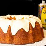 Portuguese Orange and Olive Oil Cake | Bolo de Laraja, with glaze