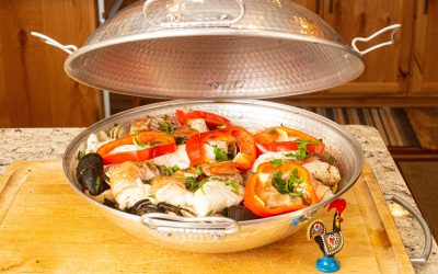 Cataplana | Portuguese Fish Stew from Algarve