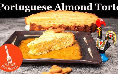 Portuguese Almond Tart | Bolo de Amêndoa