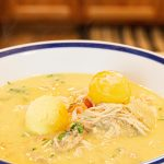 Bowl of Canja, Portuguese Chicken Soup