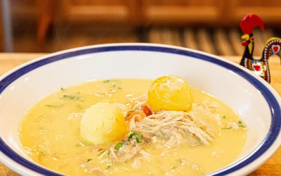 Canja | Portuguese Chicken Soup