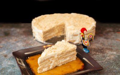 Bolo de Bolacha Maria com Natas | Portuguese Maria Biscuit Cake with Cream